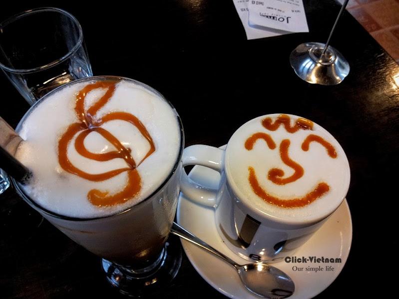 有時候店員會在咖啡上給客人一些小驚喜