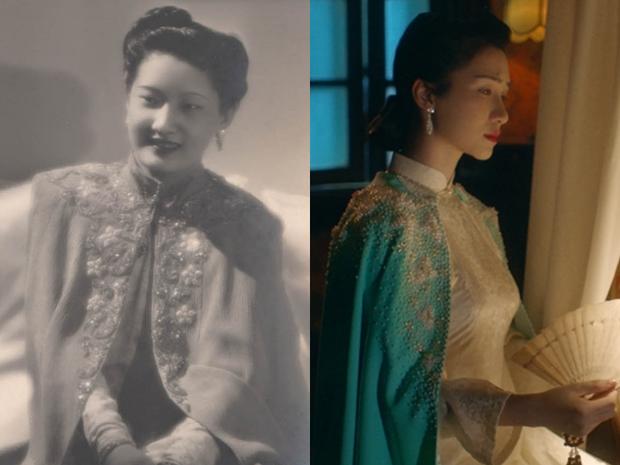 南芳皇后穿搭重現 圖片來源kenh14.vn