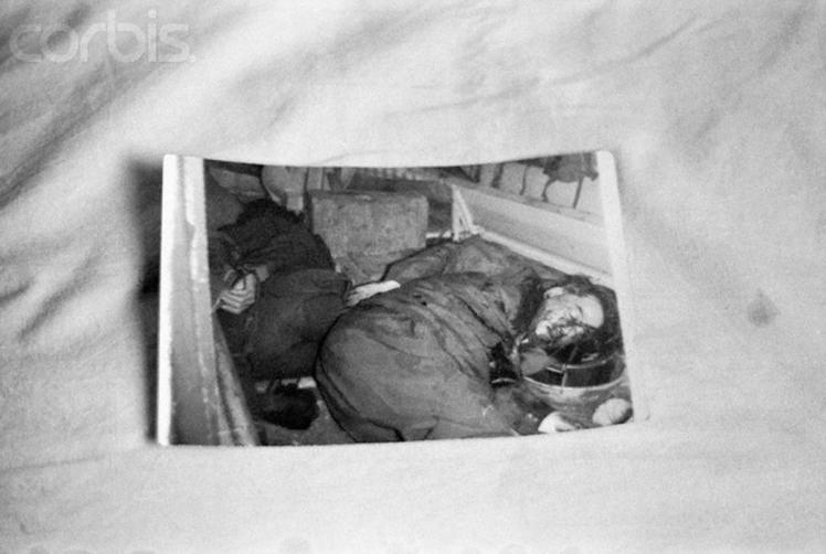 Body of South Vietnamese President Ngo Dihn Diem